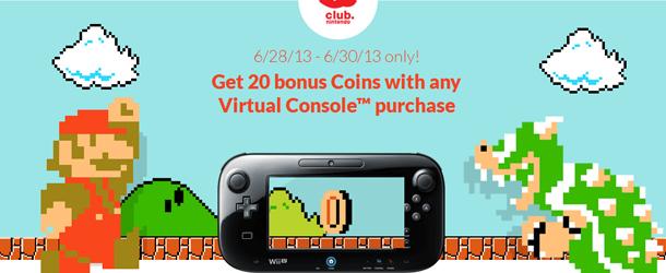 Club Nintendo Bonus 20 Banner