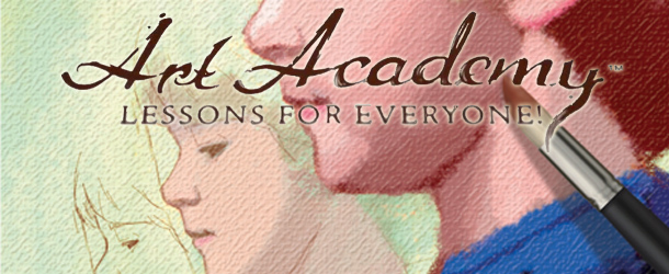 Art Academy Lessons for Everyone Banner