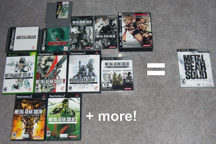Metal gear solid the legacy collection. Para ps3 gameplanet.