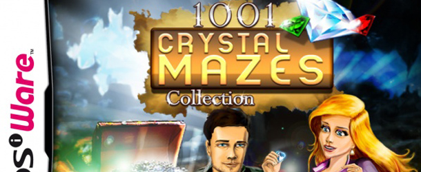 1001 Crystal Mazes DSiWare Banner