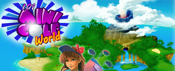 101 Mini Golf World Banner