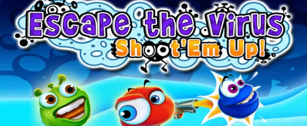 Escape the Virus Shootem Up banner