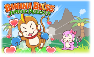 Banana Bliss Jungle Puzzles Banner
