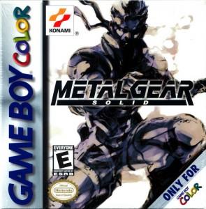 Metal Gear Solid GBA Box